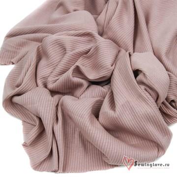 Лапша 100% хб Розовая пыль