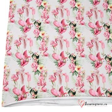 Кулир Фламинго с девочками
