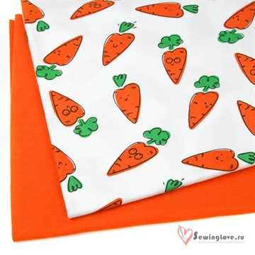 Интерлок Морковки