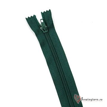 Молния пластиковая спираль Тёмно-зелёный