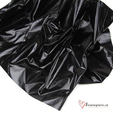 Курточная ткань Gloss (Лаке) Чёрный
