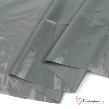 Курточная ткань Gloss (Лаке) Серый