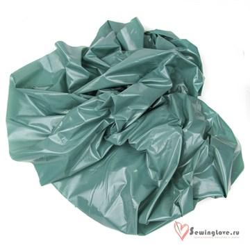 Курточная ткань Gloss (Лаке) Зелёная дымка