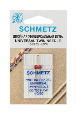 Иглы стандартные двойные Schmetz 130/705H ZWI № 90/4.0