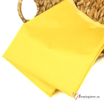 Курточная ткань Дюспо (Dewspo) Жёлтый