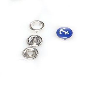 Кнопка рубашечная 9,5 мм Якорь