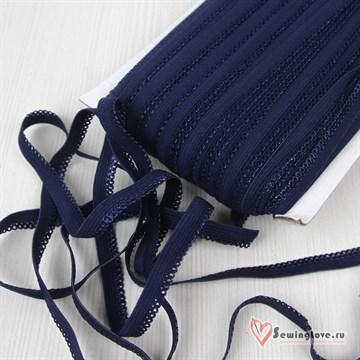 Резинка бельевая Тёмно-синий,10 мм