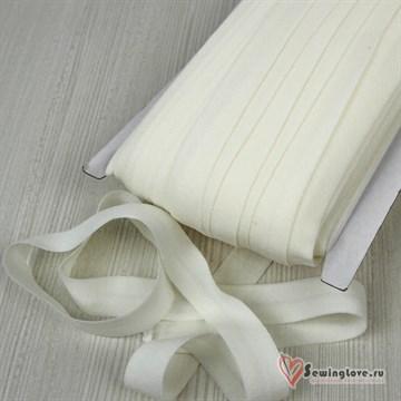 Резинка TBY окантовочная матовая 15 мм, Молочный