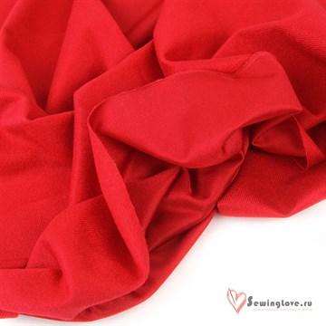 Ворсовый трикотаж (каризма) Красный