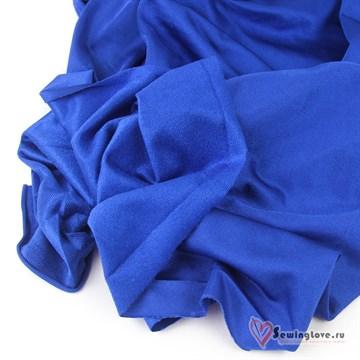 Ворсовый трикотаж (каризма) Синий