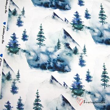 Футер Зимний лес