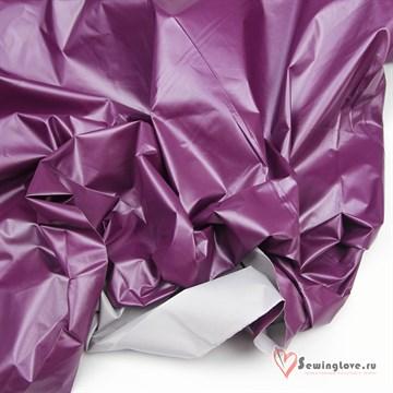 Курточная ткань Монклер (Лаке) Фиолетовый