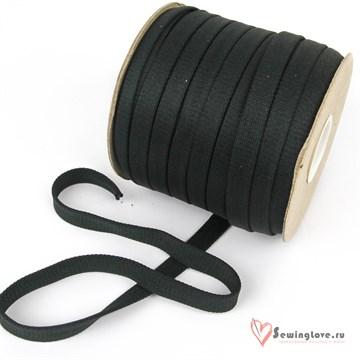 Шнур отделочный 12-15 мм, Тёмно-серый