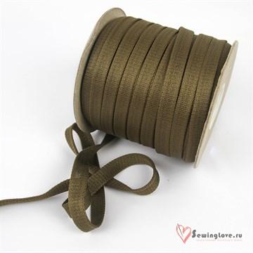 Шнур отделочный 12-15 мм, Светло-коричневый