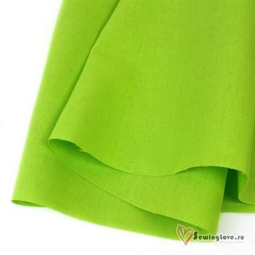 Ткань Лён костюмный Лайм, 50% лён, 50%хб
