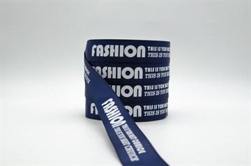 "Лента репсовая ""Fashion: This is you best chuice"", 20 мм"