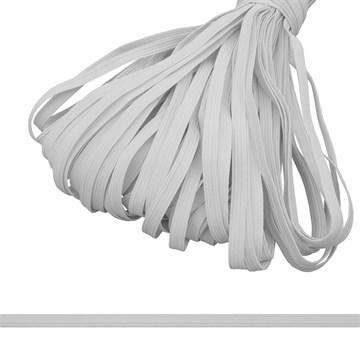 Резинка вязаная, 10 мм, Белый