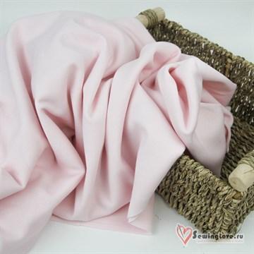 Интерлок Розовая пастель