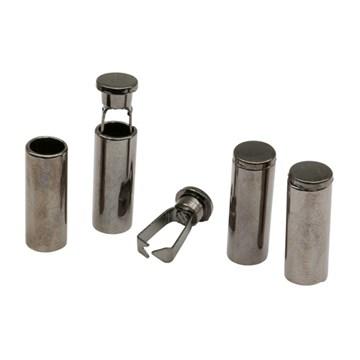 Наконечник для шнура металл (20х7мм), черный никель