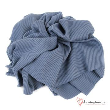 Лапша 100% хб Пыльно-синий