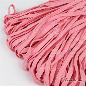 Шнур плетеный плоский 12 мм, Розовый