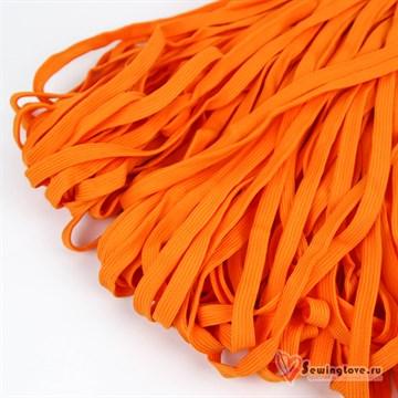 Шнур плетеный плоский 12 мм, Оранжевый