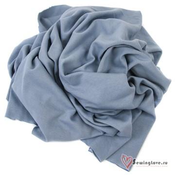 Интерлок Пыльно-синий