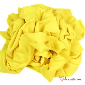 Футер 2-х Жёлтый с велюр.эффект